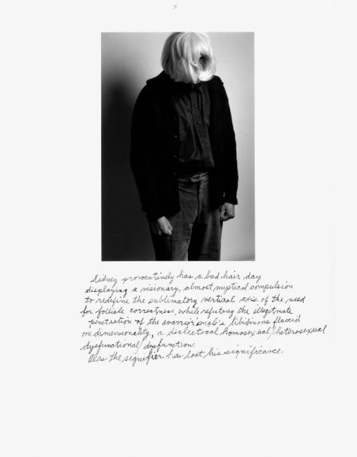 Who is Cindy Sherman? Duane Michals 2000
