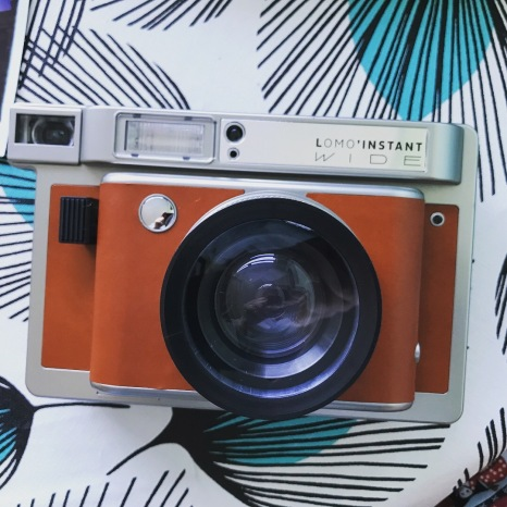 My Lomography Wide Format Instax Camera