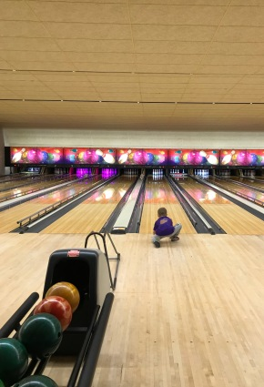 Sunday morning bowling before the crowds