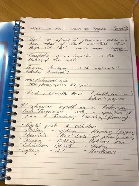 Week 1 Notes